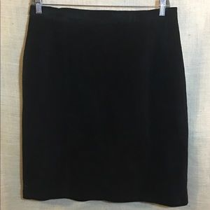 Terry Lewis Classic Luxuries Skirts - Suede leather skirt